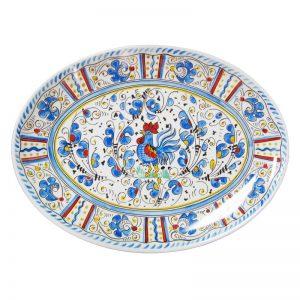 166rb-rooster-blue-16-platter