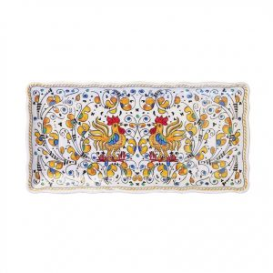 297ry-rooster-yellow-biscuit-tray