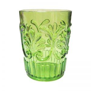 811lg-light-green-water-glass